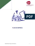 Modelo Plan Empresa AJE