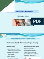 XVI Kontrasepsi Hormonal ( Injeksi, Implant, Patch, Vaginal Ring, AKDR)