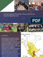 Antropología del Desarrollo - JHUVER AGUIRRE