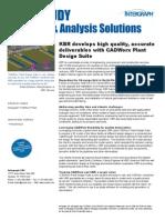 CADWorx Case Study KBR A4 Oct 2010