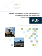 1042-MLDC68 Review of Guidelines for the Management of Winery Wastewater and Grape Marc