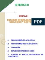 Capitulo i Estudios de Reconocimiento Geologico Geotecnico (1)