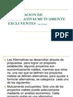 PRESENTACIÓN IE 16 Formulacion de alternativas mutuamente excluyentes