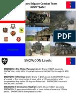 Snowcon Brief 2010-2011