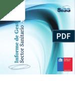 Informe de Gestión del Sector Sanitario - Agua Potable 2012 (SISS)