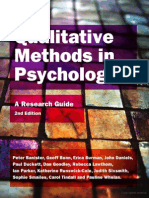 Qualitative Methods in Psychology_a Research Guide