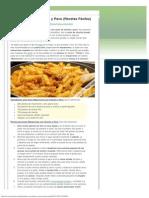 Macarrones con Chorizo y Pavo (Recetas Fáciles)