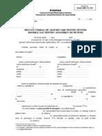 ITL 094-Proces Verbal de Adjudecare Pentru Bunuri Imobile Sau Ansambluri de Bunuri