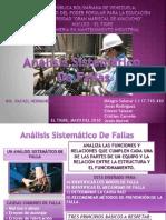 Anc3a1lisis Sistemc3a1ticos de Fallas