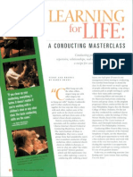 Learning for Life a Conducting Masterclass.