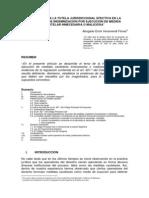 Artículo - RESTRICCIÓN A LA TUTELA JURISDICCIONAL EFECTIVA EN LA PRETENSIÓN DE INDEMNIZACIÓN POR EJECUCIÓN DE MEDIDA CAUTELAR INNECESARIA O MALICIOSA
