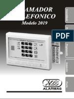 Manual Llamador Telefonico x28