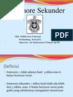 Amenorrhea Sekunder1