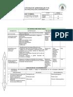 ACTIVIDAD DE APRENDIZAJE Nº 01. trabajo de gestionh pedagogica