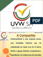 Apresentacao Divisao Agricultura UVW - Quinoa Em Portugues