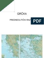 Grčka - predneolitički razvoj