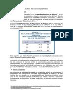 Análisis Macroentorno de Bolivia