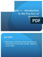 chapter 1 - introduction to the practice of statistics