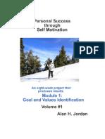 Personal Success Through Self Motivation - Module 1