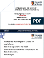 4a Aula Estado Na Economia Brasil