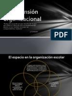 La dimención organizacional