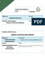 Resumen Responsabilidad social, Ecología y Conservación.docx