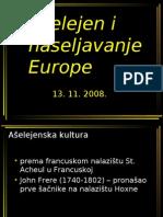 Ašelejen i naseljavanje Europe - PP
