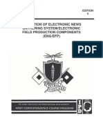 Operation of Electronic News Gathering System Electronic Field Production Components SS 05486