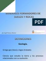 Minerales Formadores de Suelos