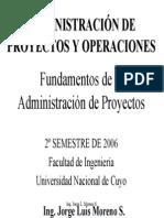 02 - Fundamentos de la Administración de Proyectos