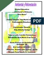 Educacion Ambiental y Reforestacion