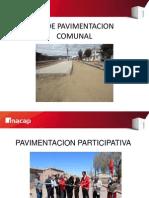 pavimentacion comunal