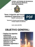 Irrigacion Del Tronco y Los Miembros.
