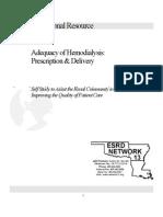 4D2a1 HD Adequacy Self Study