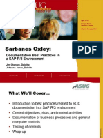SAP and Sarbanes Oxley