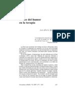El Uso Del Humor en La Psicoterapia - Luis Alberto Spilzinger
