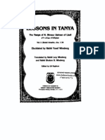 Rabbi Shneur Zalman of Liadi - Lessons in Tanya Vol-1