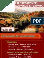 LOS PRECURSORES DEL IMPRESIONISMO EN ESPAÑA