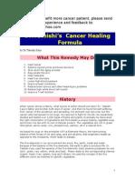 Tateishi's Cancer Healing Formula