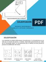 clase 7 SOLIDIFICACIÓN DE METALES 1