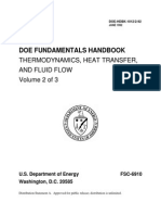 Handbook- Thermodynamics, Heat Transfer and Fluid Flow - Volume 2 of 3