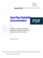 Heatpipe Reliability