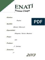 Prensa Chapa - Copia