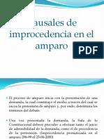 Causales de Improcedencia en El Amparo