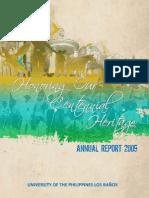 2009 UPLB Annual Report