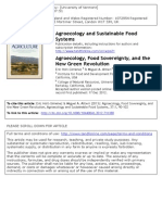 Holt Gimenez and Alteri - Agroecology and Sustainable
