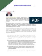 Veinte Criterios Basicos Para Una Auditoria Interna