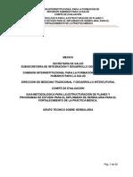 Criterios Esenciales Diplomado Herbolaria Secretaria Salud