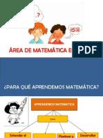 Area de Matematica en El Dcn