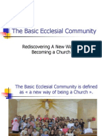 6409528 the Basic Ecclesial Community